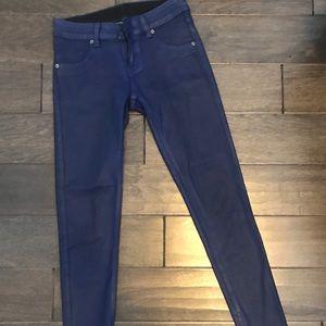 CARMAR waxed blue hot pants (25)